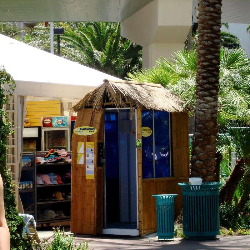 Flamingo-booth