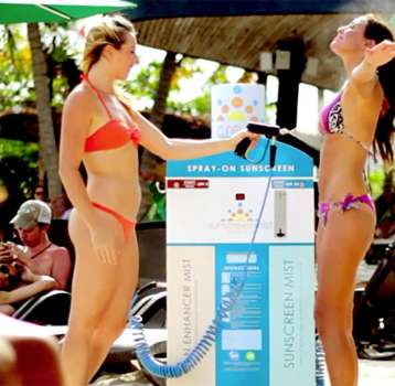 Sunscreen Mist adds convenience to sunscreen application